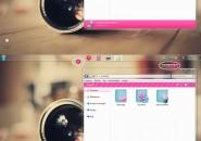 Pink Girly Windows 7 Visual Styles