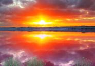 Sunset Storm Screensaver