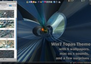 WIN 7  THEME 3D Windows 7 Visual Styles