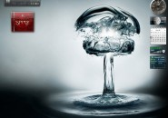 Water Bomb Windows 7 Visual Styles