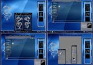 blue dragon Windows 7 Visual Styles