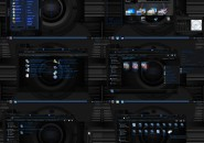 dark blue onix Windows 7 Visual Styles