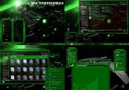 green glass Windows 7 Visual Styles