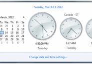 multiple clocks