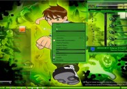 transformation pack of ben10 Windows 7  Visual Styles