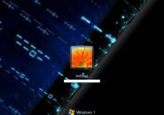 Binary Blues Windows 7 Logon Screen