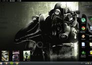Gamer Windows7 Rainmeter Theme