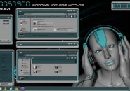 Robots Windows Blind Theme