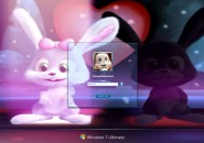 Schnuffel Bunny  Windows 7 Logon Screen