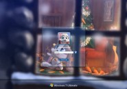 Schnuffel Winter  Windows 7 Logon Screen