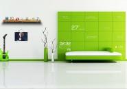 Serene Green Windows7 Rainmeter Theme