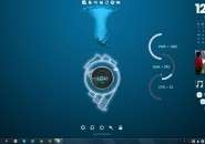 Sunkman Rainmeter Theme for Windows7