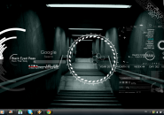 Underground windows7 Rainmeter Theme