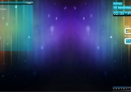 Vanila Blue Rainmeter Skin for Windows7