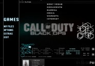 Black Ops Rainmeter Theme for Windows7
