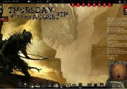 Dragon Hunt Rainmeter Theme for Windows7