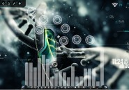 NanoSchematic Windows7 Rainmeter Theme