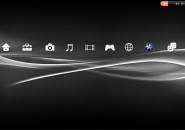 PS3 GUI Rainmeter Theme for Windows7