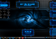 XR 5 Rainmeter Theme for windows7