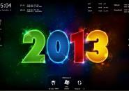 2013 Windows7 Rainmeter Theme