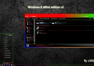 Artistic Visual Style for Windows7