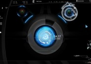 Blue Planet Rainmeter Theme for Windows7