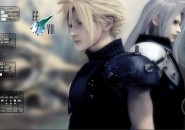 Cloud Strife Rainmeter Theme for Windows7