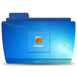 Colorful Icon Logon Screen For Windows7