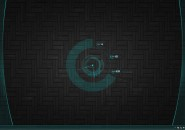 Dark Blu Rainmeter Theme for Windows7