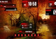 Falling Night Rainmeter Theme for Windows7