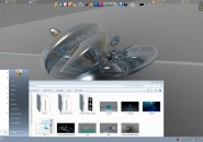 Gray Crystal Visual Style for Windows7