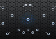 Hexa Alienware Rainmeter Theme