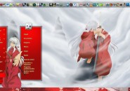 Inuyasha Visual Style for windows7