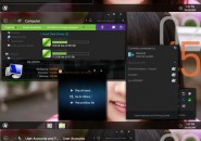 Metro Dark Visual Style for Windows7