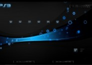 PS3 Blue Ray Windows7 Rainmeter Theme