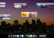 Reports Rainmeter Theme for windows7