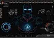 Shield Plus Jarvis UI Rainmeter Theme