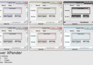 Silver Xpander Visual Style Theme for Windows7