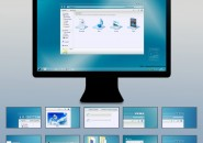 Soft Glass Visual Styles for Windows7