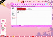 Valentines Visual Style for Windows7