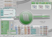 Wisp Visual Style Theme for Windows7