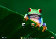 Red Eyed Logon Screen for Windows7
