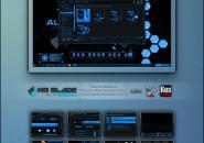 alienware blue